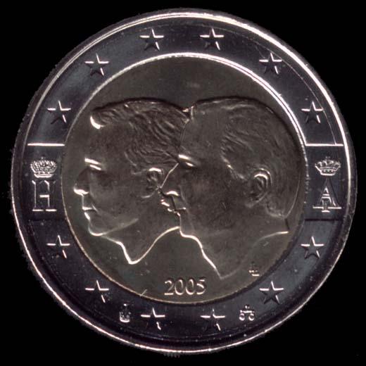Belgische Euromünzen