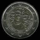 2 Euro Commemorative of Belgium 2011