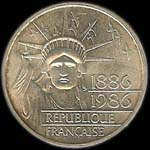 100 francs 1986 Libert� avers