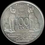 100 francs 1997 Andr� Malraux revers