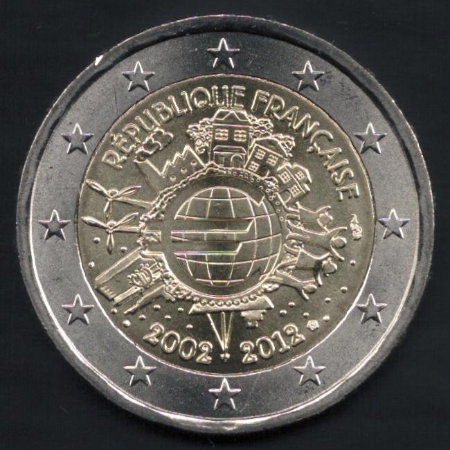 e9e97c47b3 ... 2 euro commemorative Francia 2012