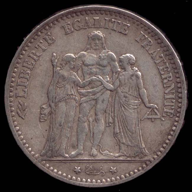 Französischer Münzen