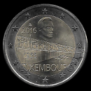 2 Euro Commemorative of Luxembourg 2016
