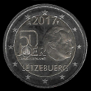 2 Euro Commemorative of Luxembourg 2017