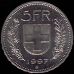 5 francs Switzerland
